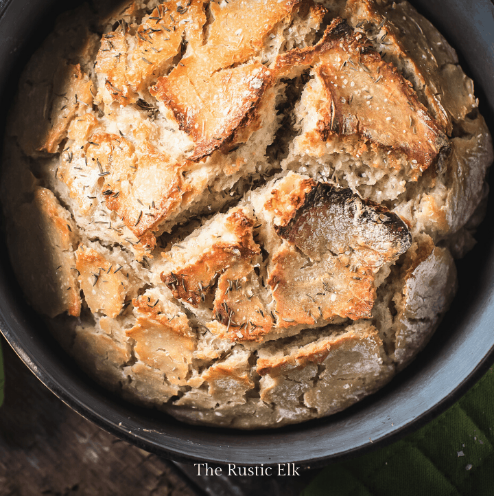 No knead dutch oven bread is so easy to make into a beautiful artisan loaf you'll want to make it again and again.