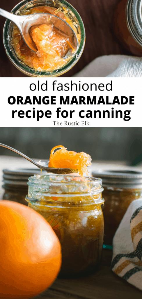 Beautiful orange marmalade on a tabletop.