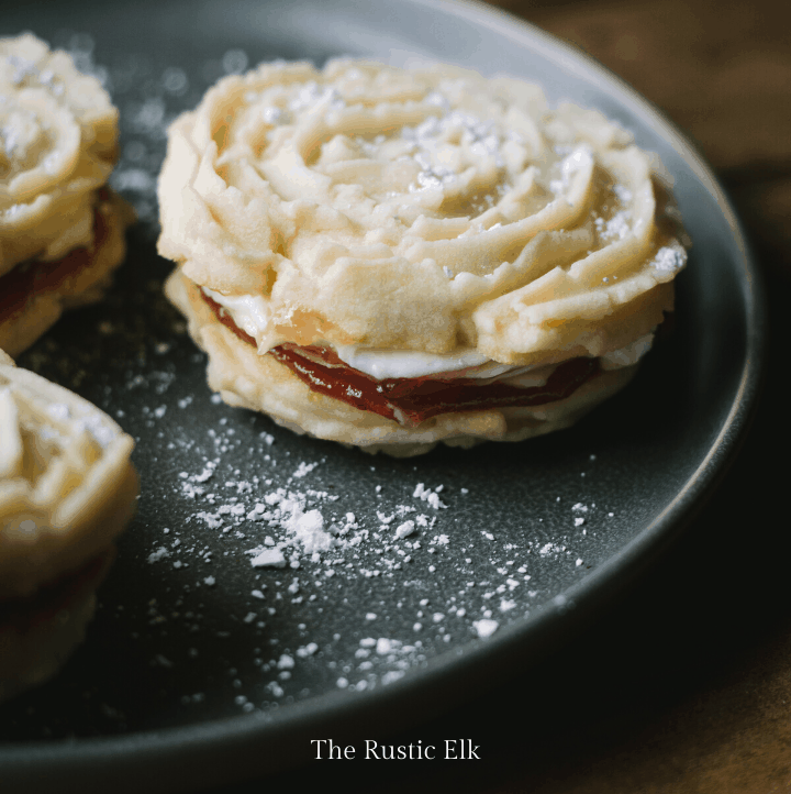 Picture of viennese whirls.